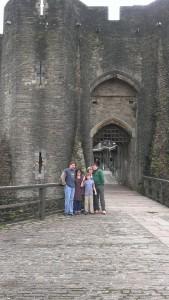 Caerphilly gatehouse